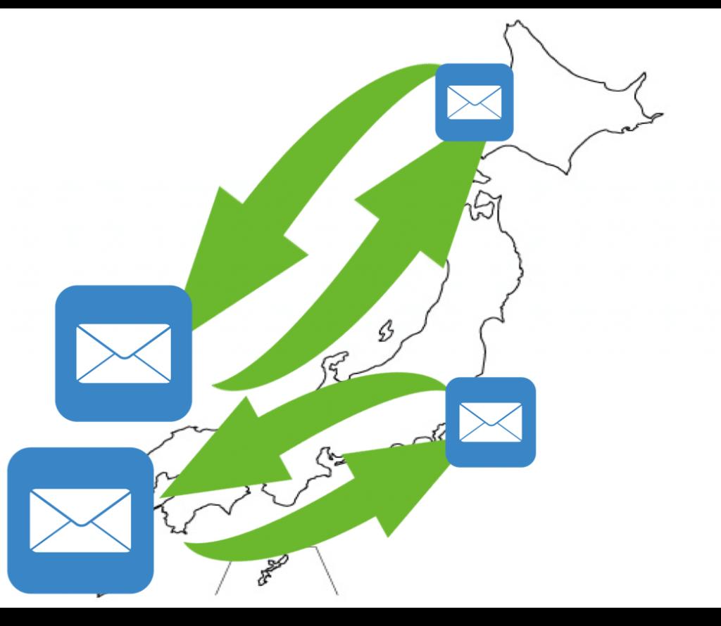 メール鑑定のメリット② 日本全国各地から自分に会う有能な占い師の鑑定を受けられる