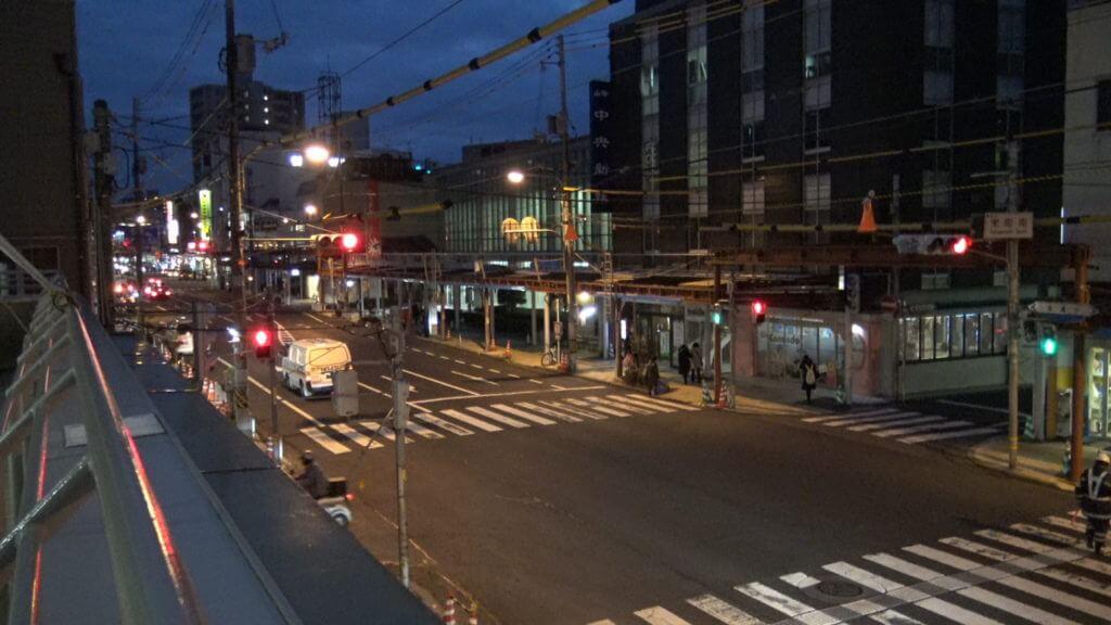 鳥取繁華街