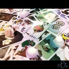ココナラ 弐弌。「ルノルマンカードとタロットの複合占いをします」商品画像