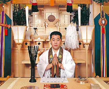 神聖院の宮崎先生