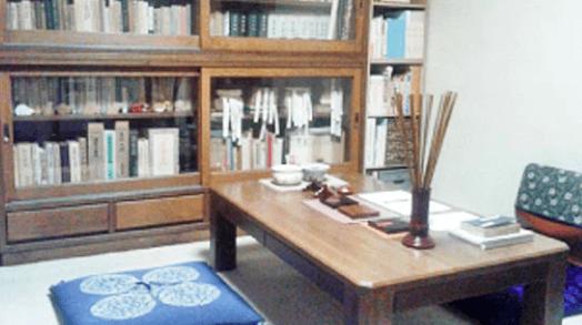 易学道場正誠閣の占い鑑定スペース