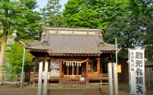 川越熊野神社の写真