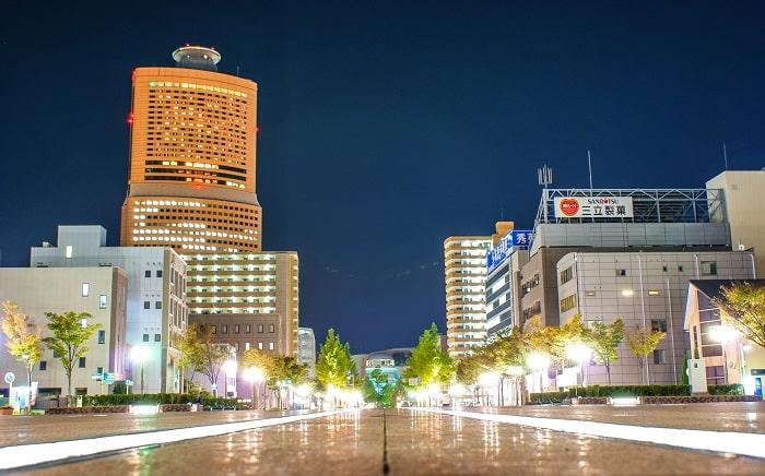 浜松市街の夜景
