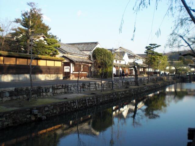 倉敷の美しい風景