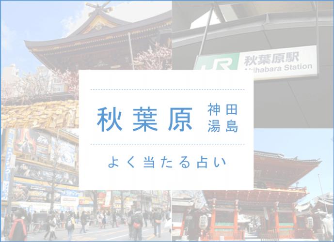 よく当たる占い 完全ガイド【秋葉原・神田・湯島エリア】