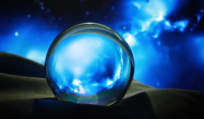 青い 水晶