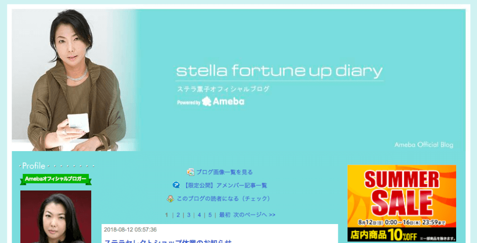 Stella fortune up diary