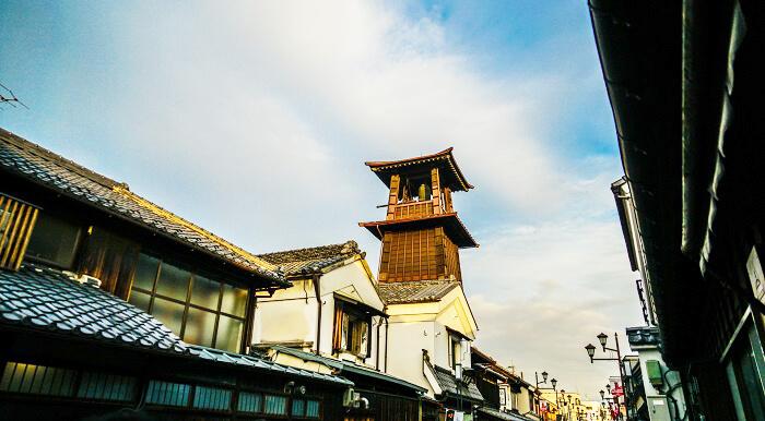 蔵造りの街並み 埼玉