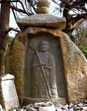 浄土寺地蔵笠石仏