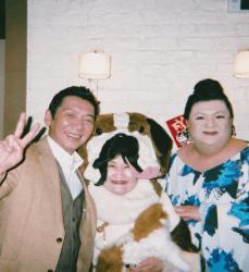 宮根誠司とマツコさんと写真を撮るアイ惠照先生