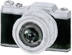 2021年のふたご座のラッキーアイテムであるカメラ