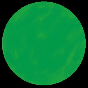 射手座のラッキーカラーであるグリーン