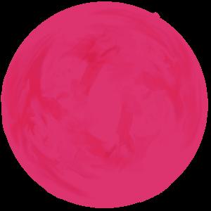 蟹座のラッキーカラーであるビビッドピンク