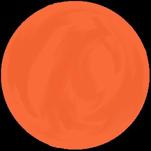 乙女座のラッキーカラーであるオレンジ