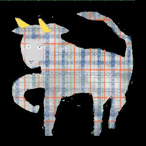 牡牛座のイラスト