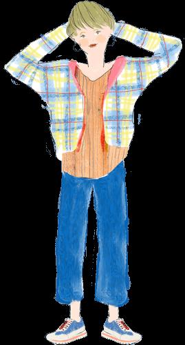 双子座の女性のファッションイメージ