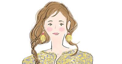 蟹座の女性の顔