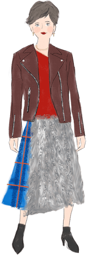 牡羊座の女性のファッションイメージ
