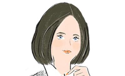 乙女座の女性の顔