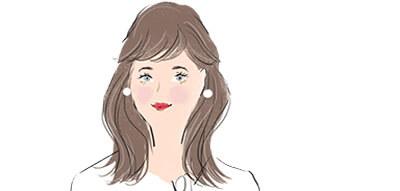 牡牛座の女性の顔