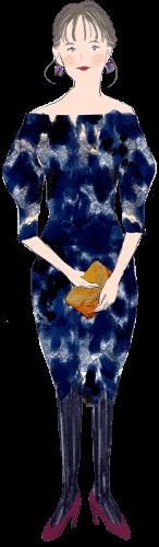 蠍座の女性のファッションイメージ