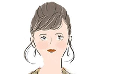 山羊座の女性の顔