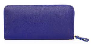 青色の長財布