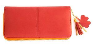 赤の長財布