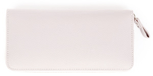 白い長財布