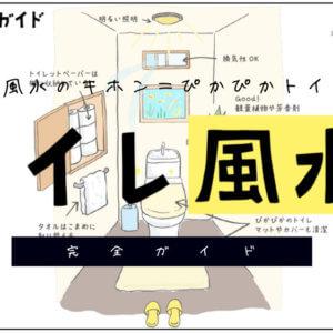 トイレの風水(色・マット&カバー・掃除)【開運風水ガイド】