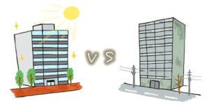 風水・家相的に良いマンションと悪いマンションを比較