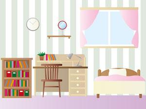 女の子の部屋におすすめのカーテン