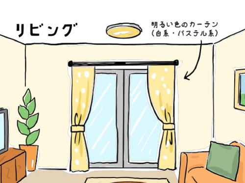 リビング・居間におすすめのカーテン