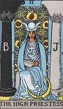女教皇のカード
