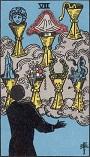 タロットカード 小アルカナ カップの「7」