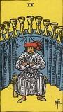 タロットカード 小アルカナ カップの「9」