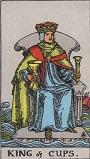 タロットカード 小アルカナ カップの「キング」