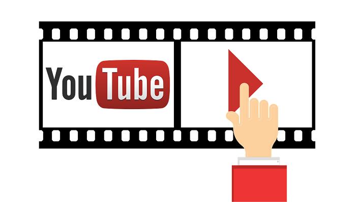YouTubeのイメージイラスト