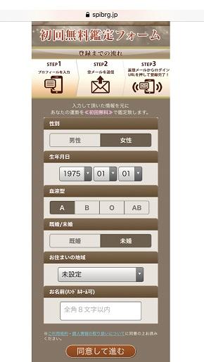 メール占い『スピリチュアルの架け橋』初回無料鑑定フォーム