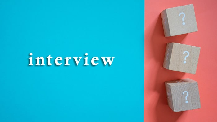 インタビューのイメージフォト