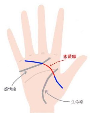 親指の付け根と小指の下の線が繋がっている手相